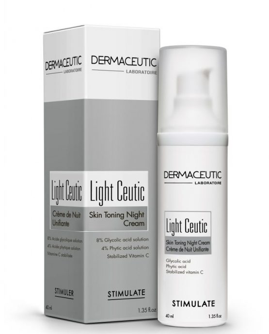 Kem dưỡng trắng da ban đêm Light Ceutic - Dermaceutic