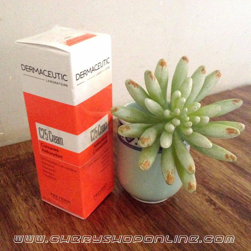 kem dưỡng trắng da và chống oxy hóa c25 cream