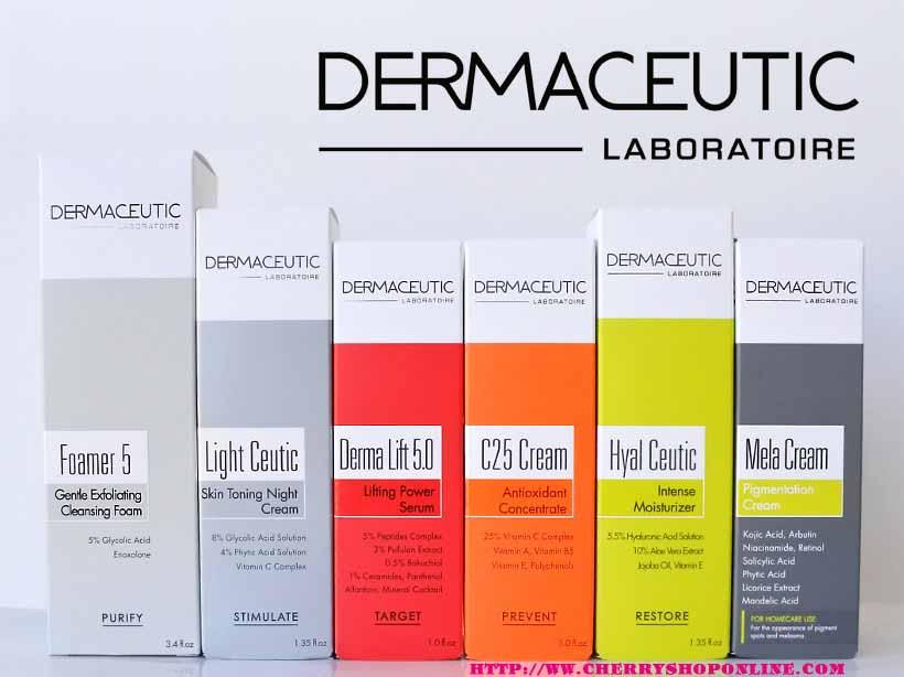tổng hợp sản phẩm dermaceuti