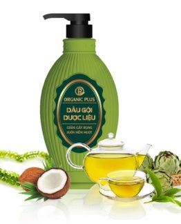 Dầu gội dược liệu chống rụng tóc organic plus