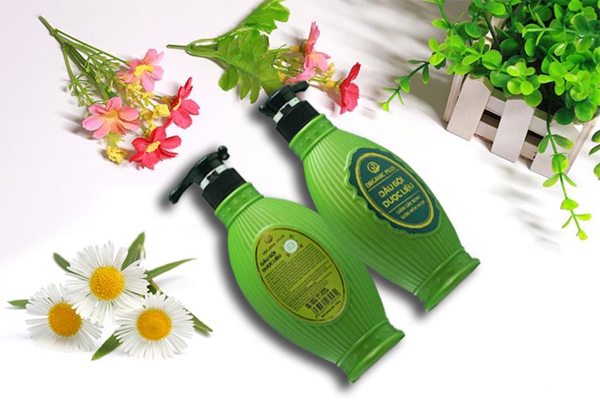 Dầu gội dược lieuj Organic Plus giúp trị rụng tóc hiệu quả