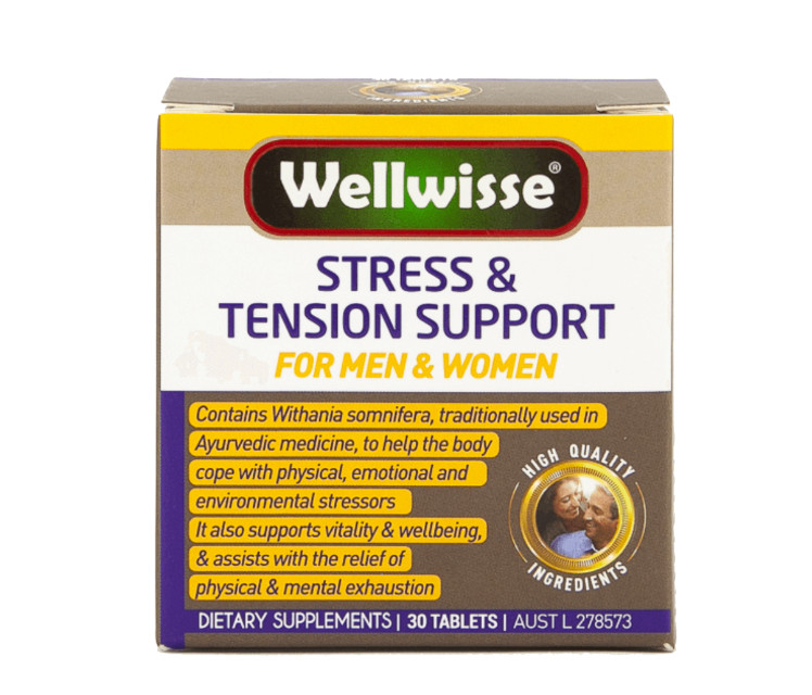 Wellwisse Stress & Tension Support